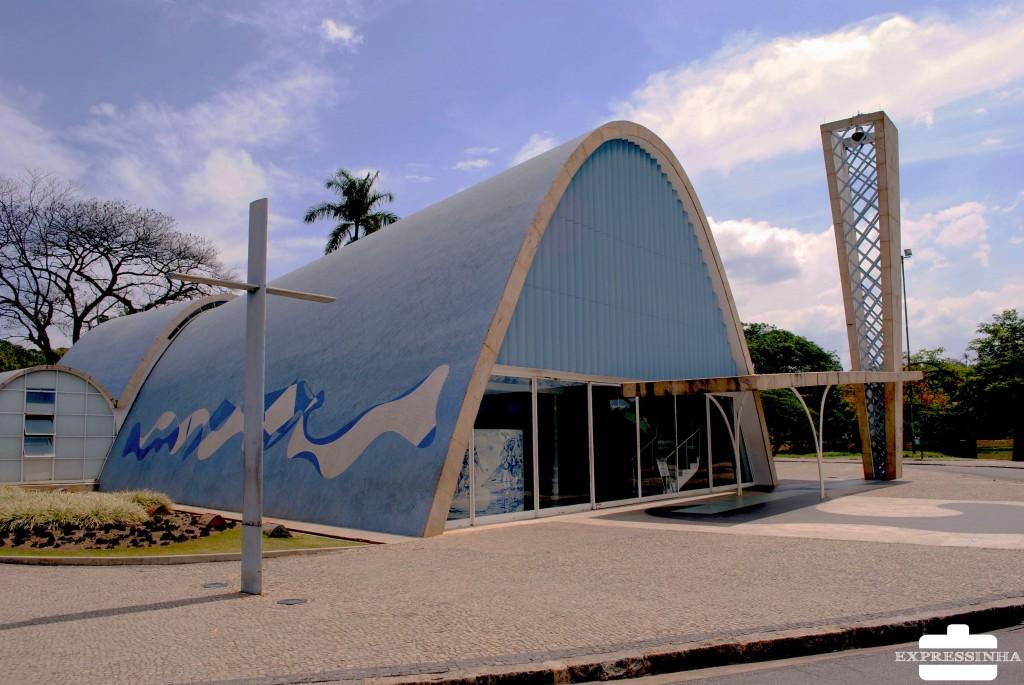 Expressinha Belo Horizonte Igreja da Pampulha Oscar Niemyer