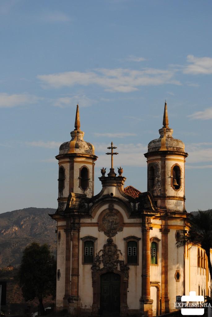 Expressinha Ouro Preto Igreja de São Francisco