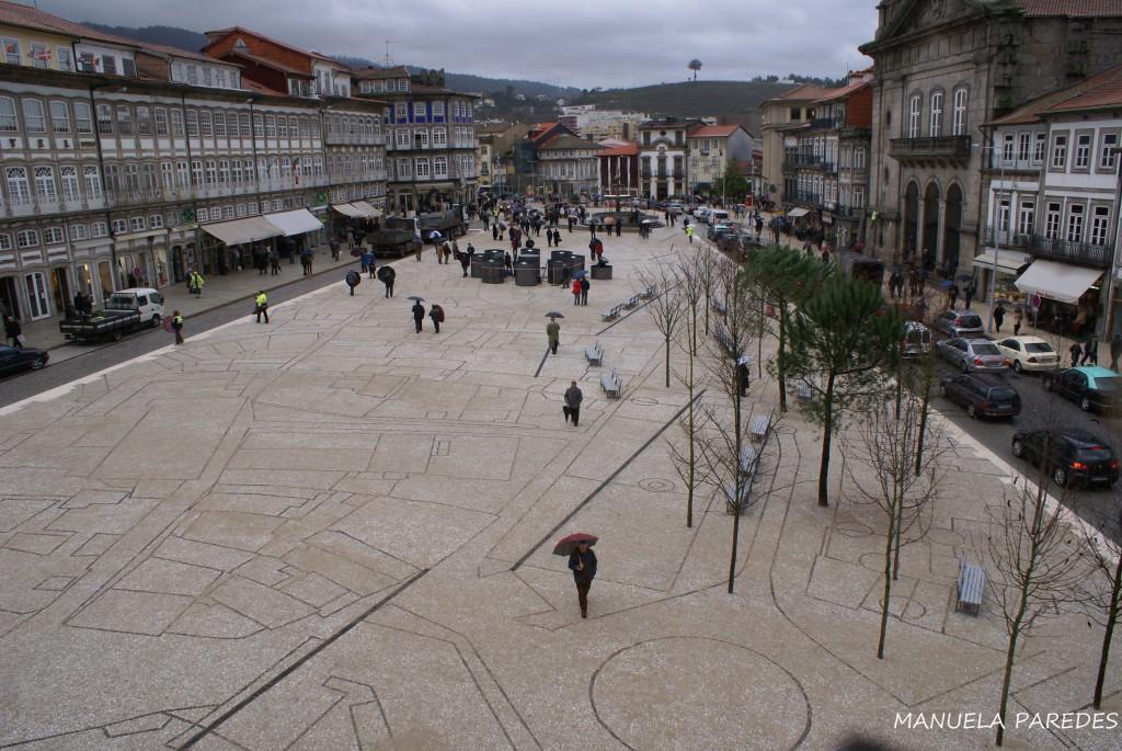 Portugal Guimarães Largo do Toural