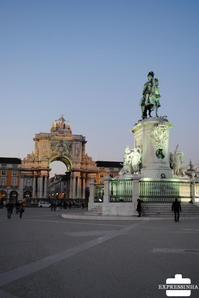 Lisboa, Praça do Comércio ou Terreiro do Paço
