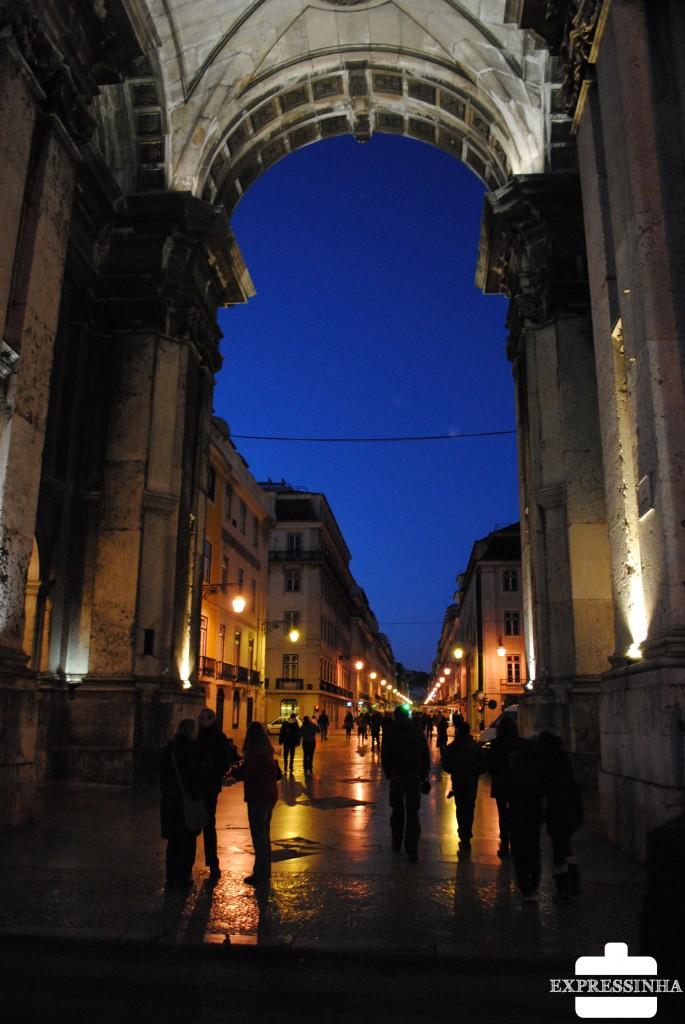 Lisboa, Praça do Comércio, Terreiro da Sé, Arco da Rua Augusta