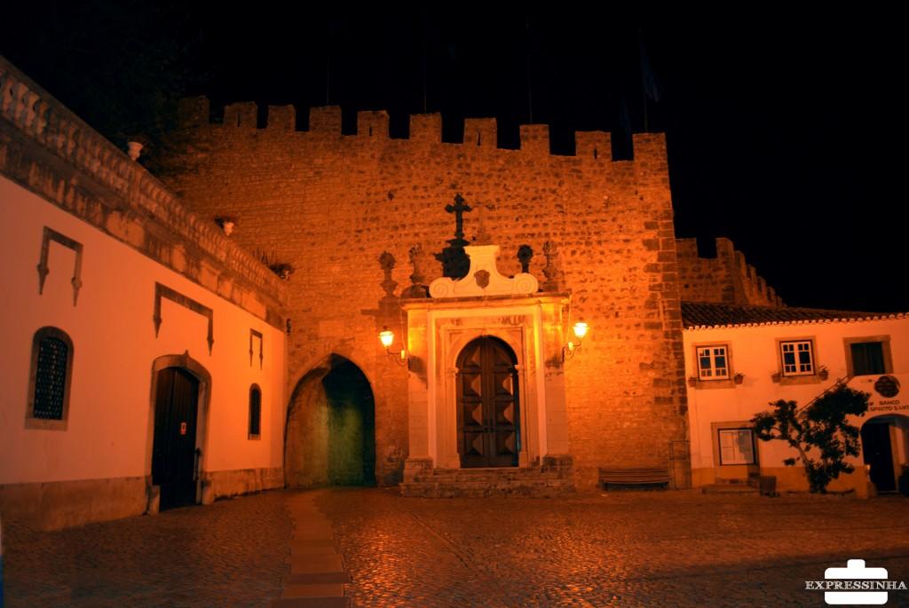 Portugal Óbidos Noite Porta da Vila