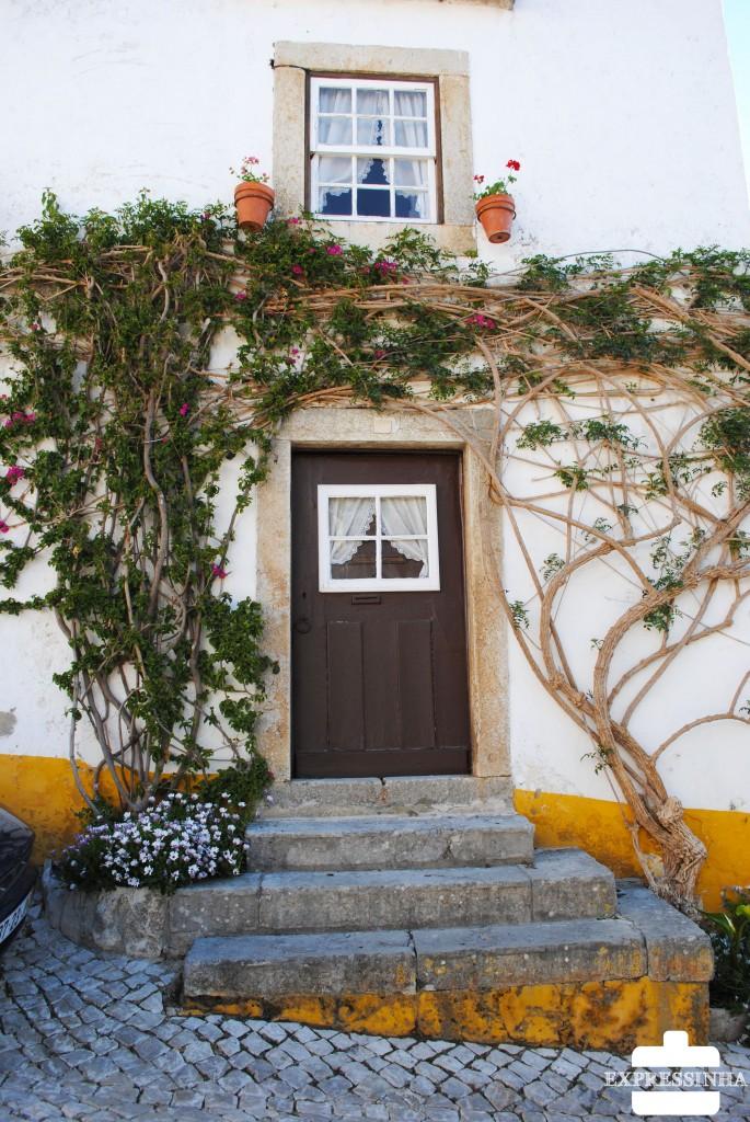 Portugal Óbidos Casas