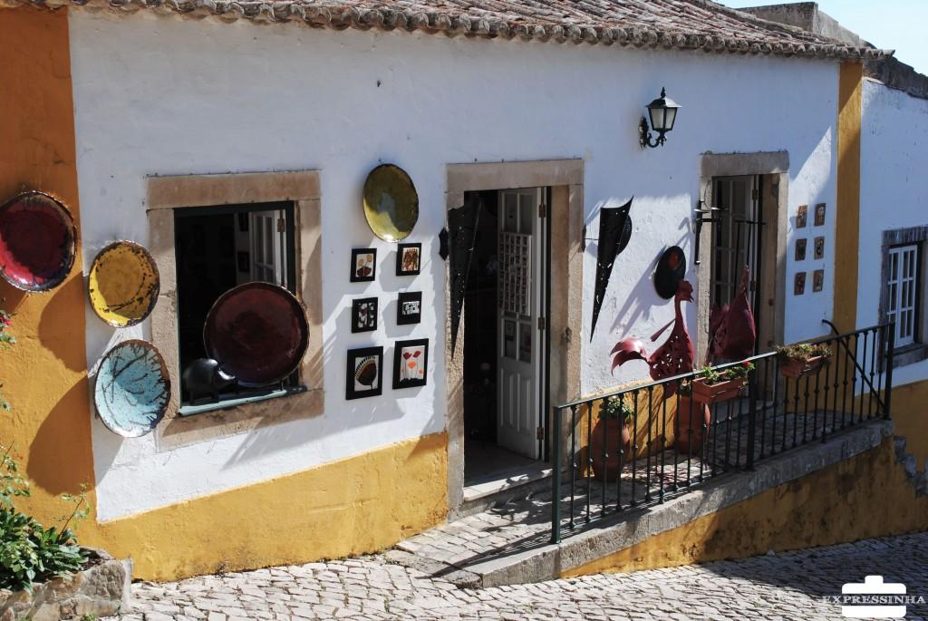 Portugal Óbidos Loja Artesanato