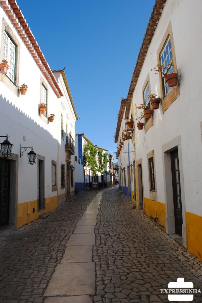 Óbidos Portugal Rua Direita