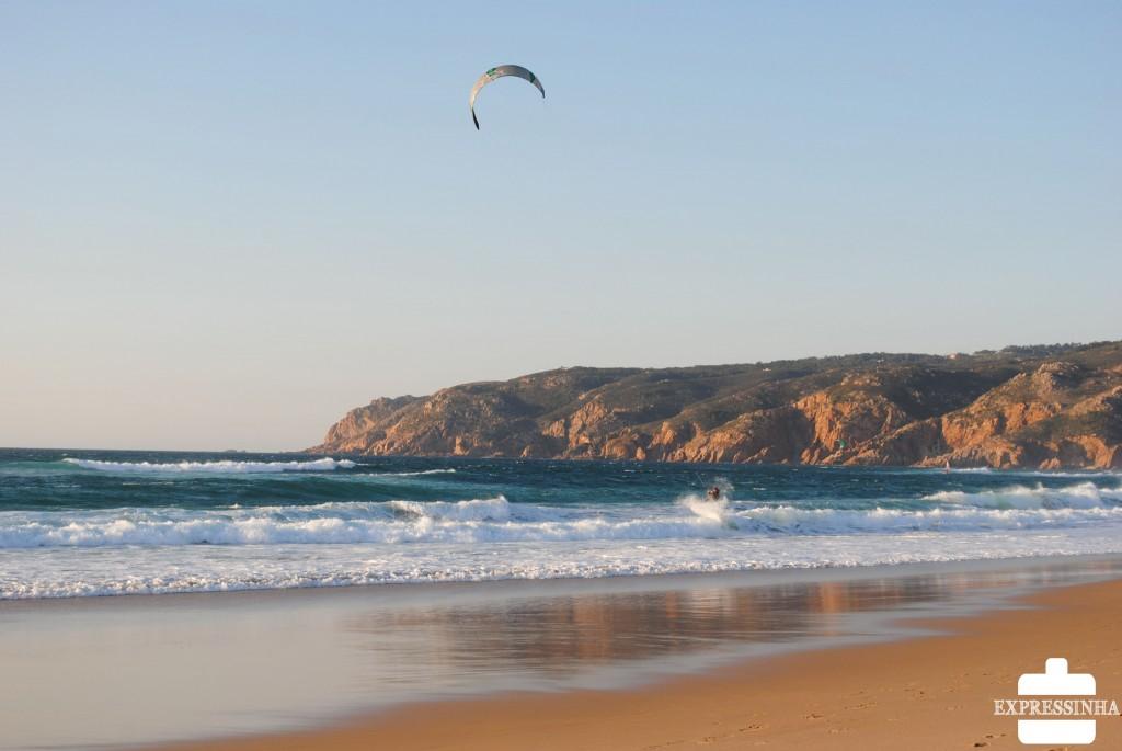 Portugal Cascais Praia do Guincho kitesurf