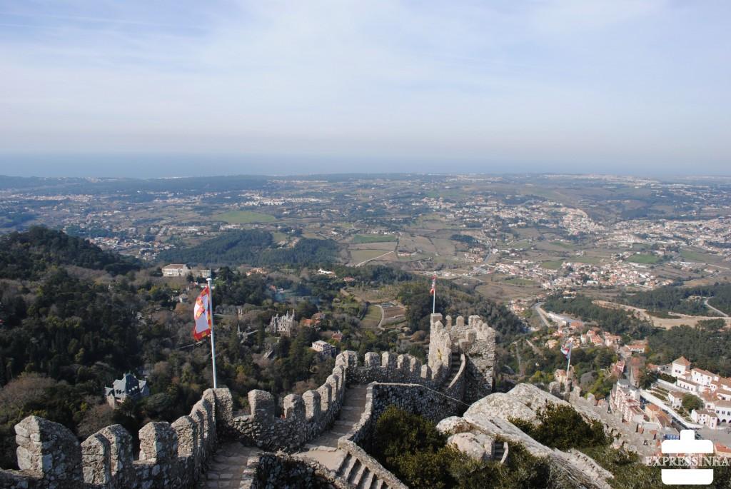 Expressinha Sintra Castelo dos Mouros