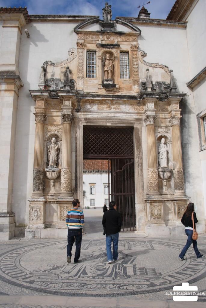 Portugal Coimbra Universidade Porta Férrea