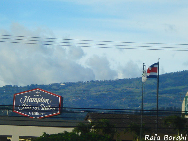 Costa Rica San Jose Vulcões