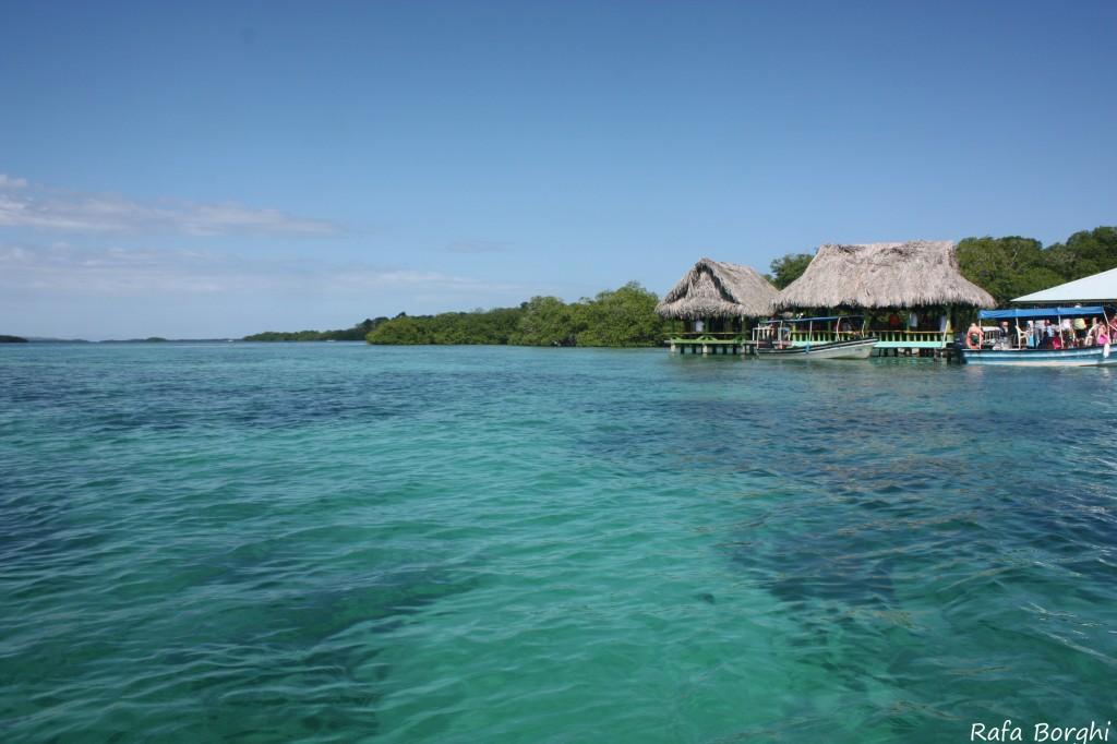 Panamá Praia Restaurante flutuante
