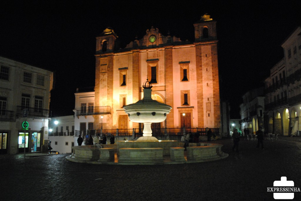 Portugal Évora Praça do Giraldo