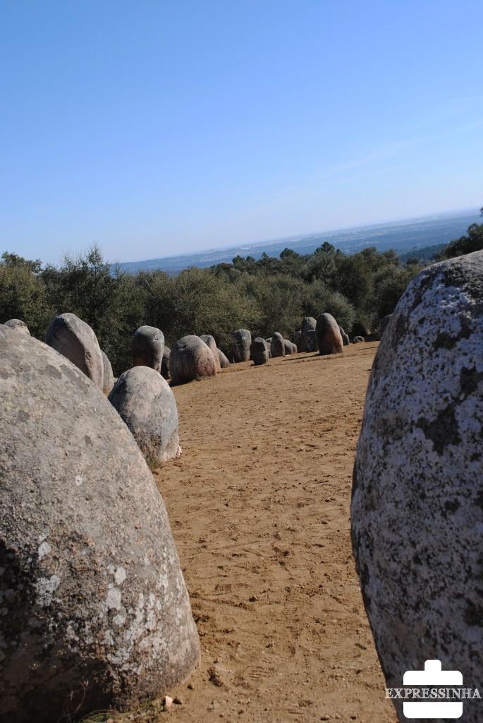 Portugal Évora Cromeleque dos Almendres Ebora Megalithica