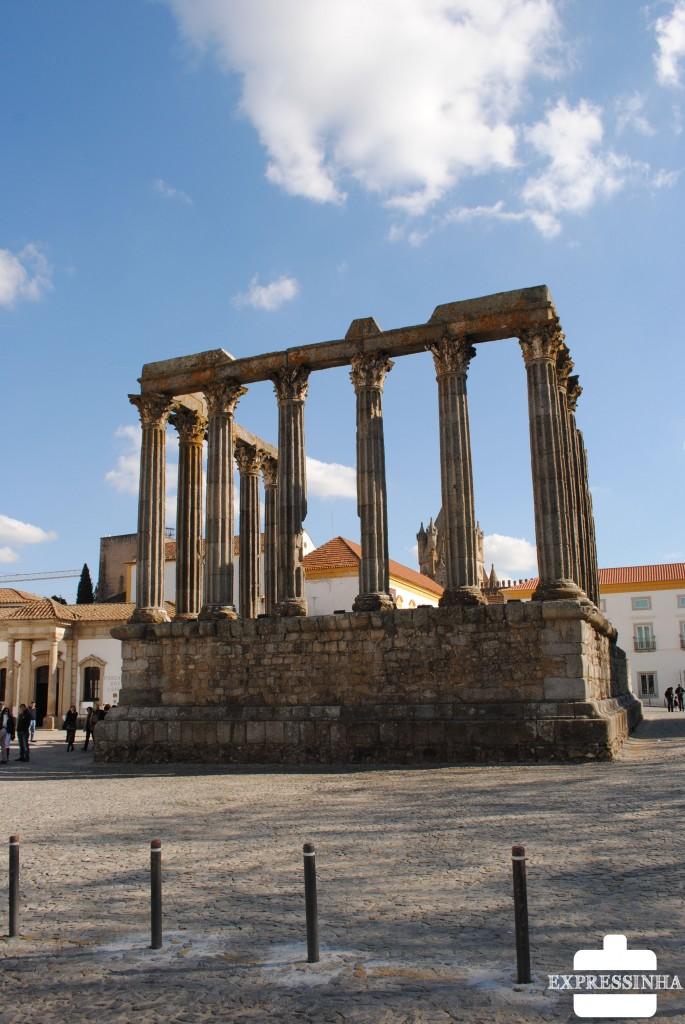 Portugal Évora Templo de Diana