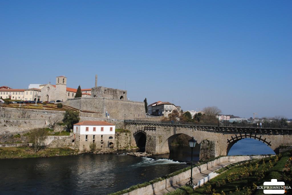 Portugal Barcelos Ponte Medieval Barcelinhos