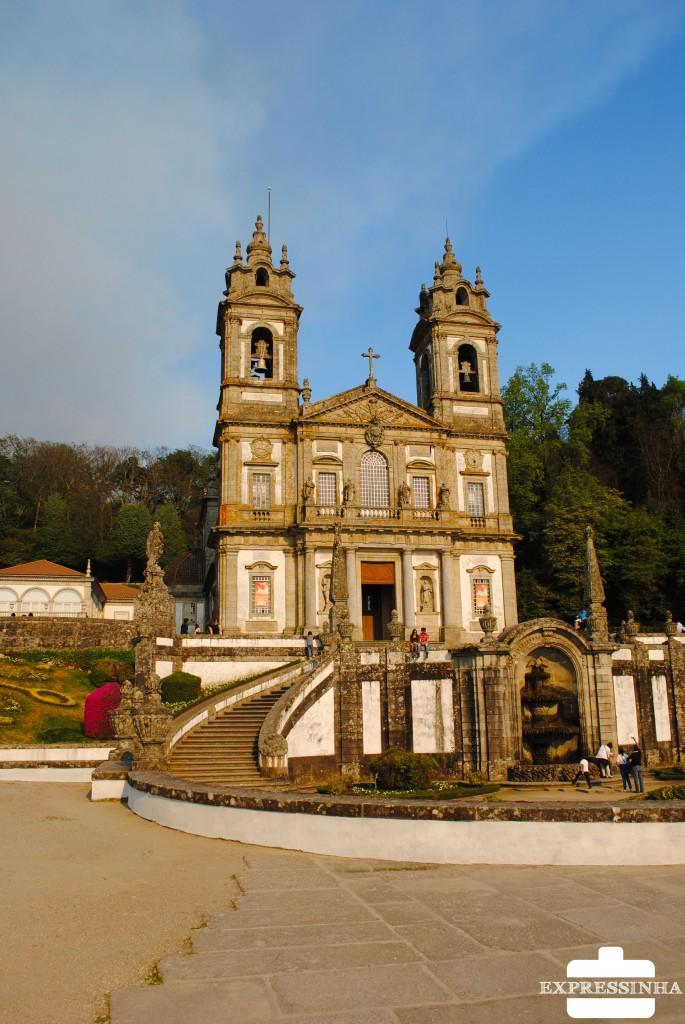 Portugal Braga Igreja do Bom Jesus do Monte