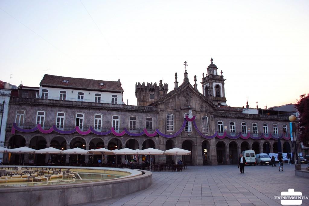 Portugal Braga Praça da República