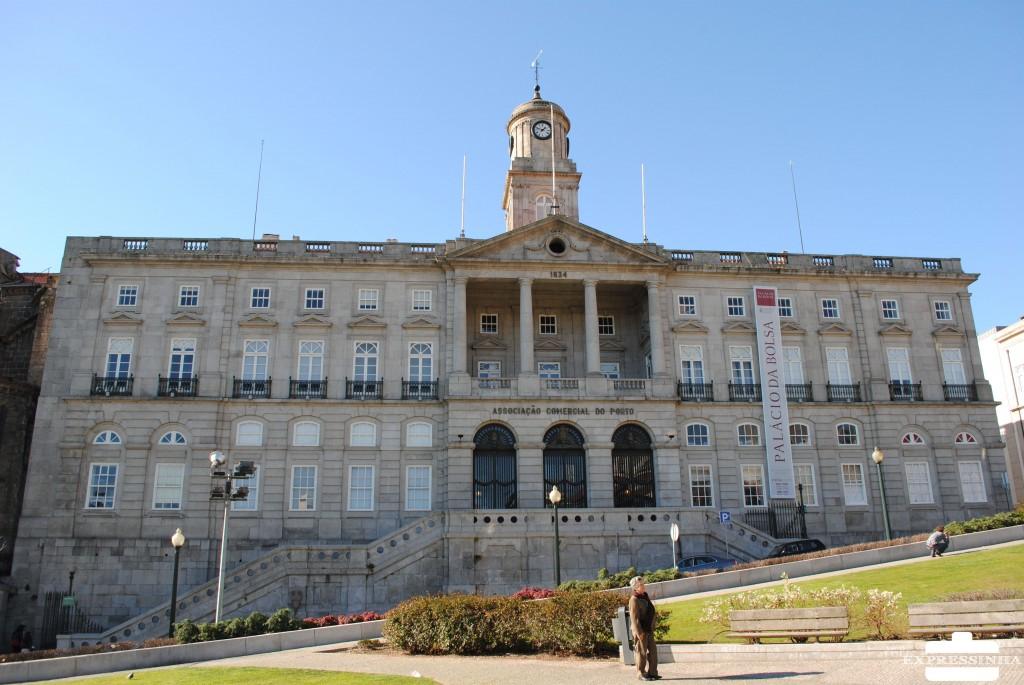 Portugal Porto Palácio da Bolsa Praça do Infante