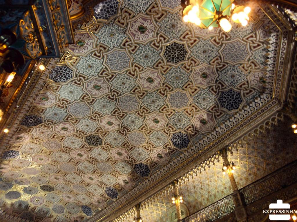 Portugal Porto Palácio da Bolsa Salão Árabe