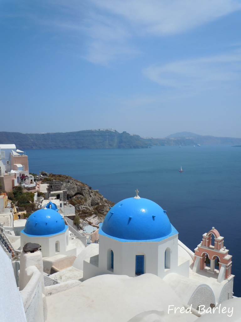 Expressinha Grécia Santorini Fred Barley 2