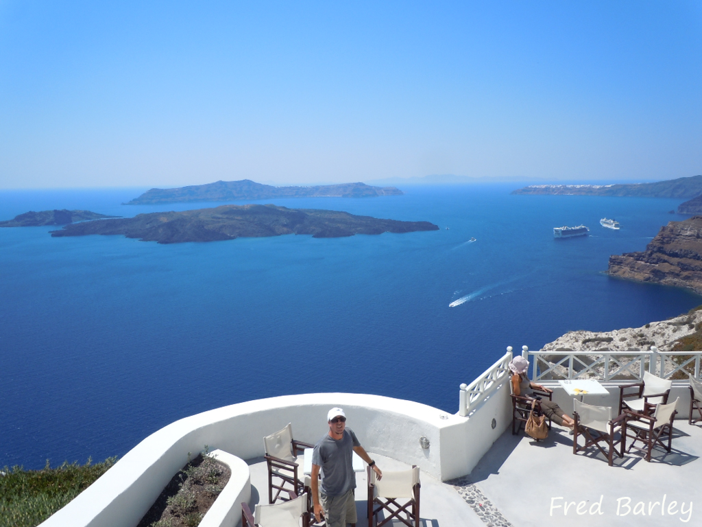 Expressinha Grécia Santorini Fred Barley 5