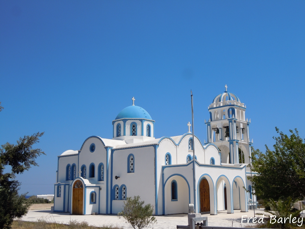 Expressinha Grécia Santorini Fred Barley 6