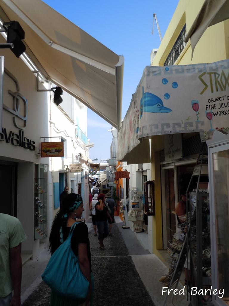 Expressinha Grécia Santorini Fred Barley 9