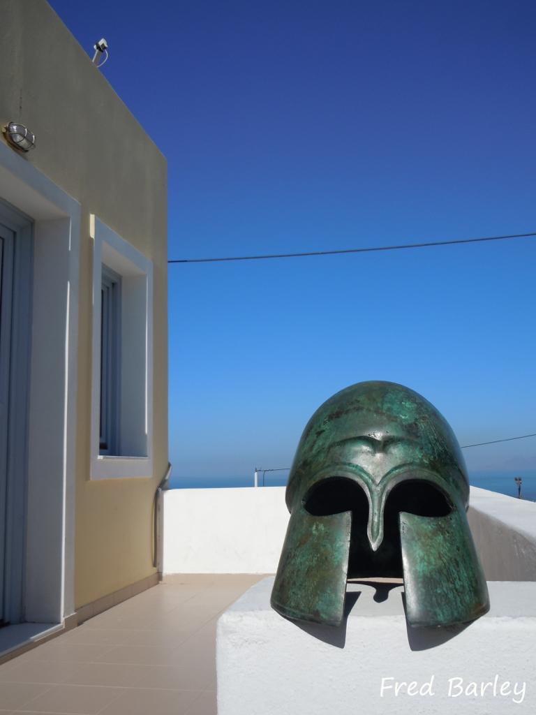 Expressinha Grécia Santorini Fred Barley