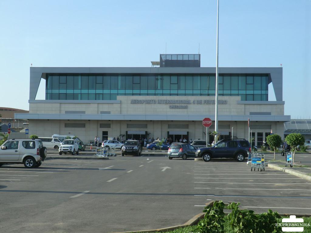 O grande aeroporto de Luanda!