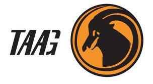 O símbolo da Taag é uma Palanca Negra, um dos símbolos de Angola.
