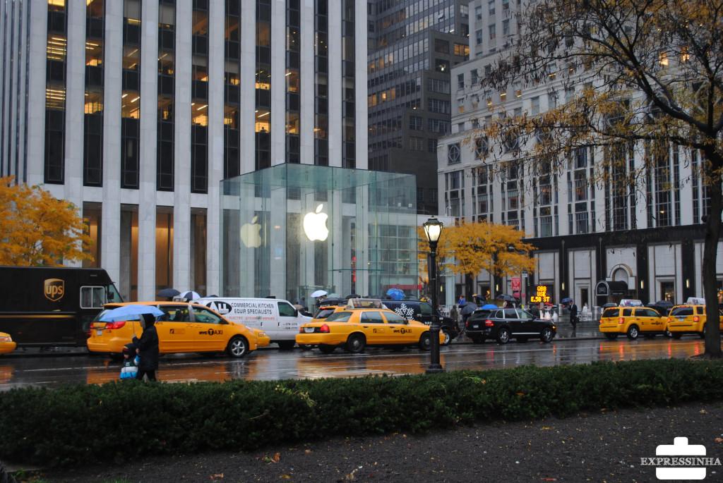Expressinha NY 5ª Avenida Apple Store