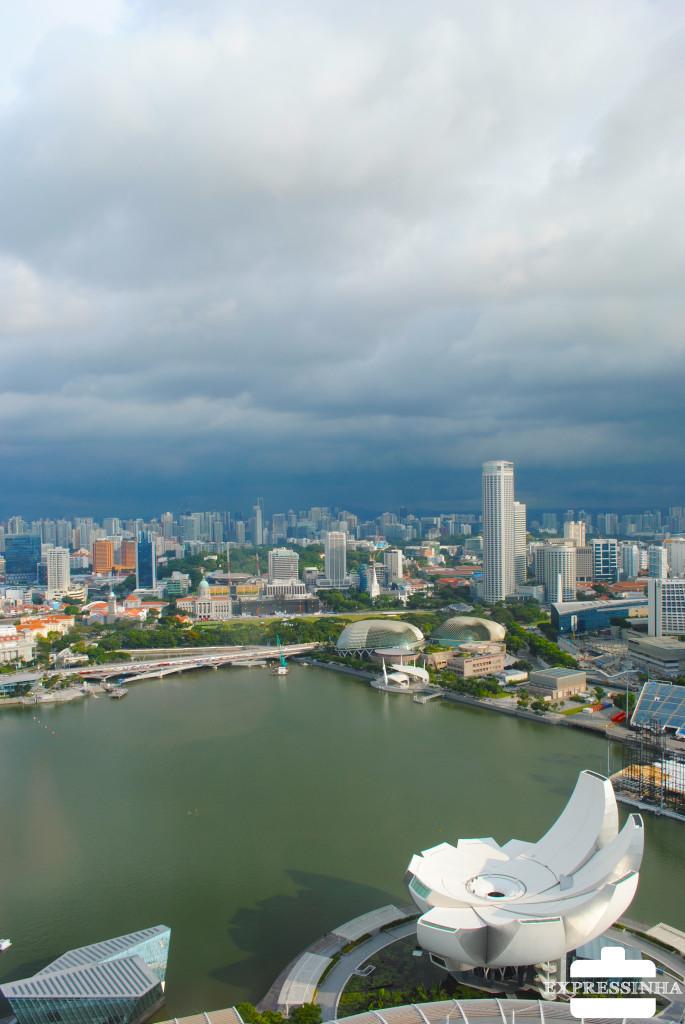 Singapura vista cidade Marina Bay Sands