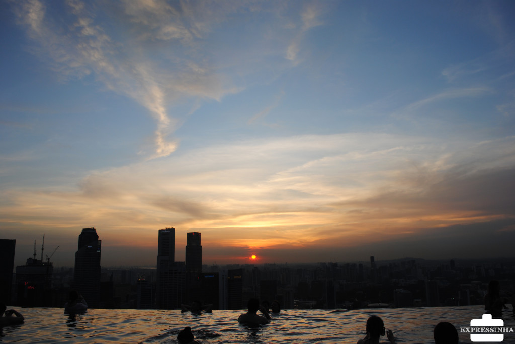 Singapura Marina Bay Sands Pool