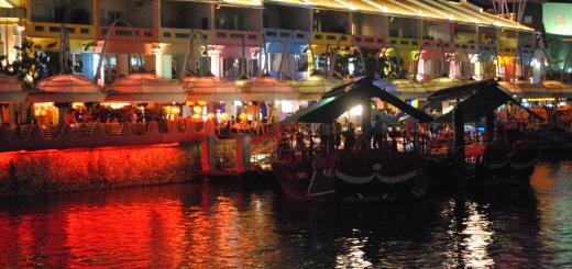 Singapura Clark Quay