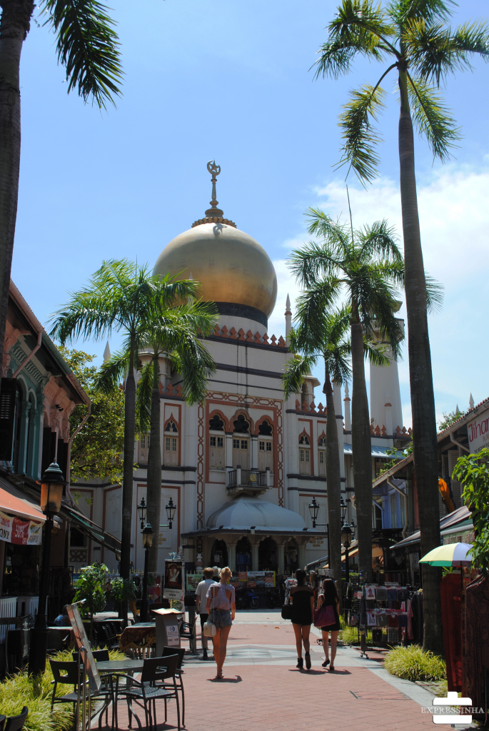 Singapura Arabe Quarter Sultan Mosque