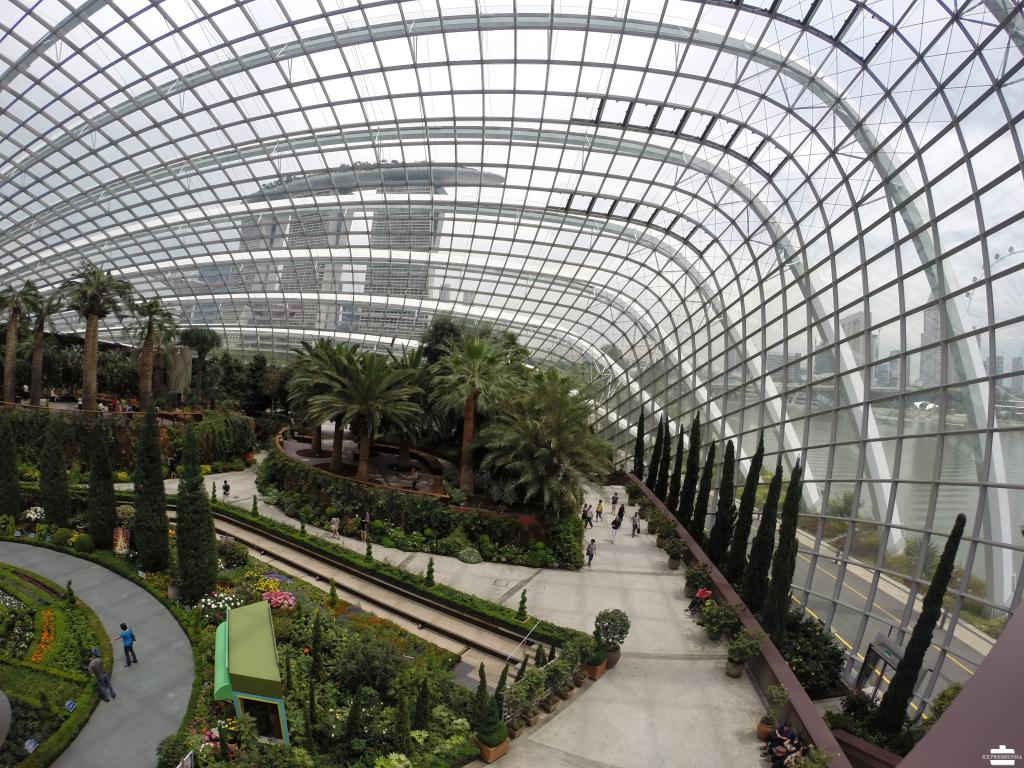 Singapura Marina Bay Sands Garden