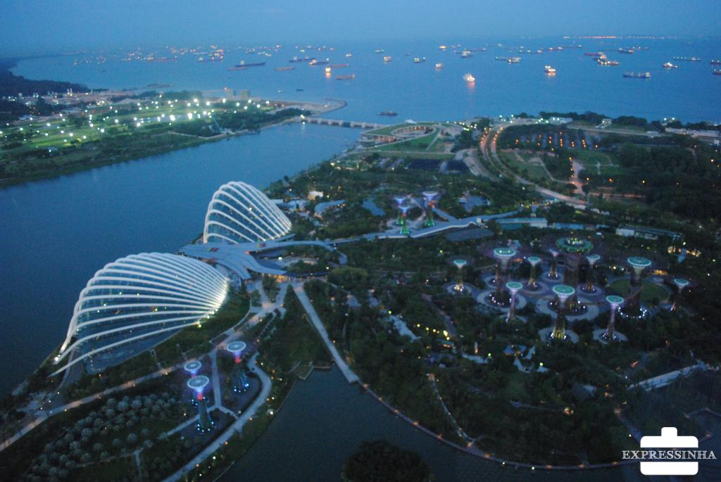 Singapura Marina Bay Sands Supertrees Groove