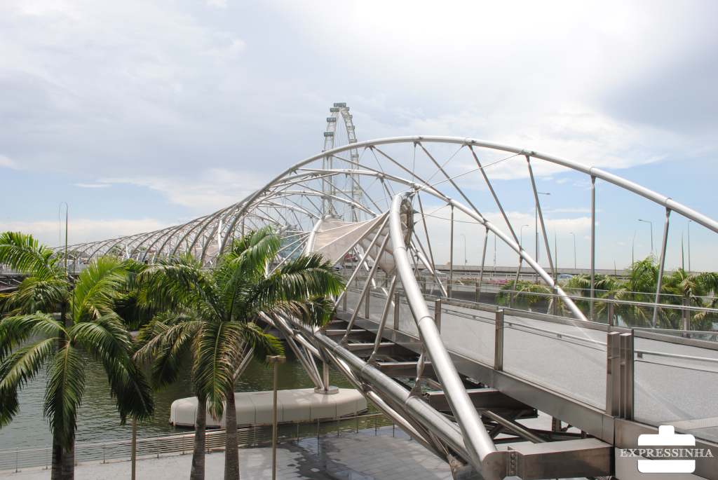 Singapura Marina Bay Sands Helix