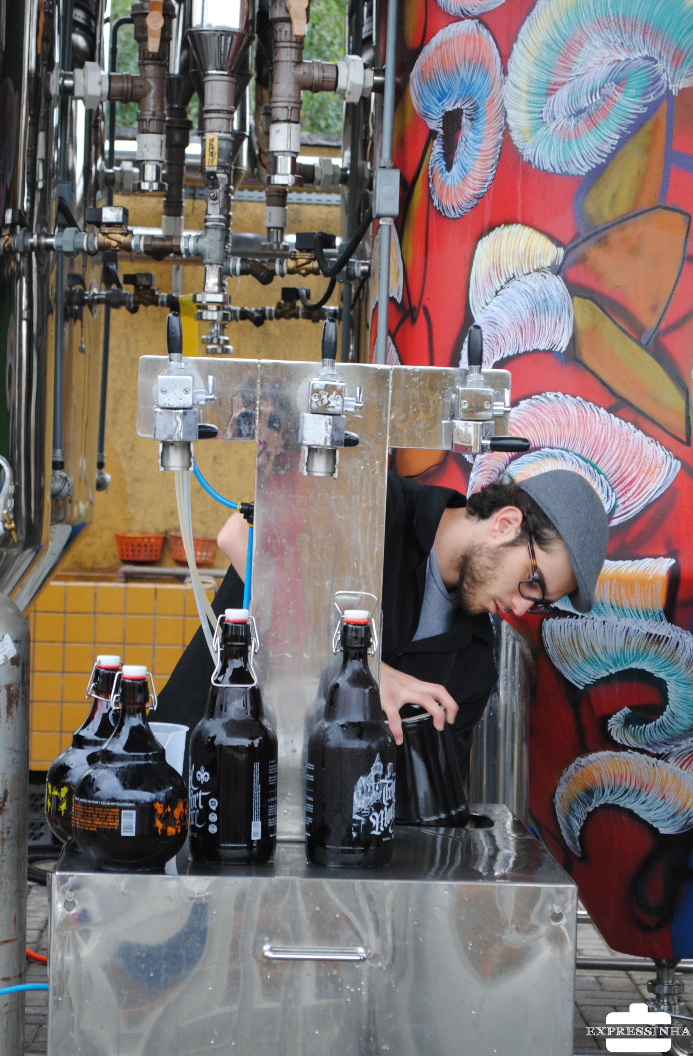 Curitiba Cervejaria Bodebrown Growlerday