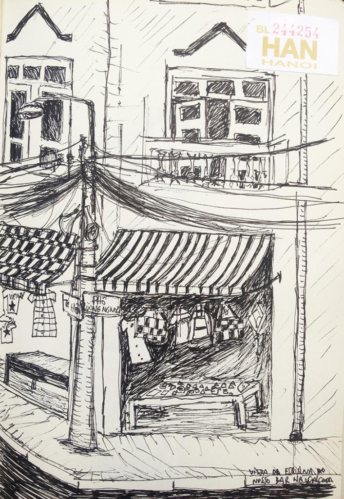 esquina do bar - Hanoi