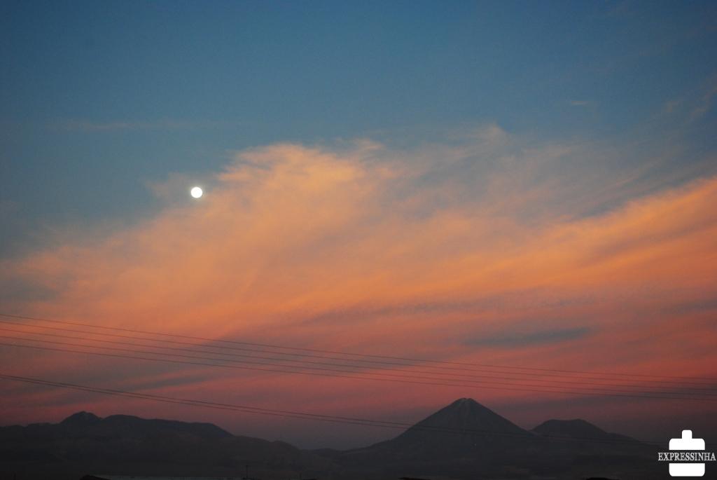 Chile Atacama Moon Licancabur