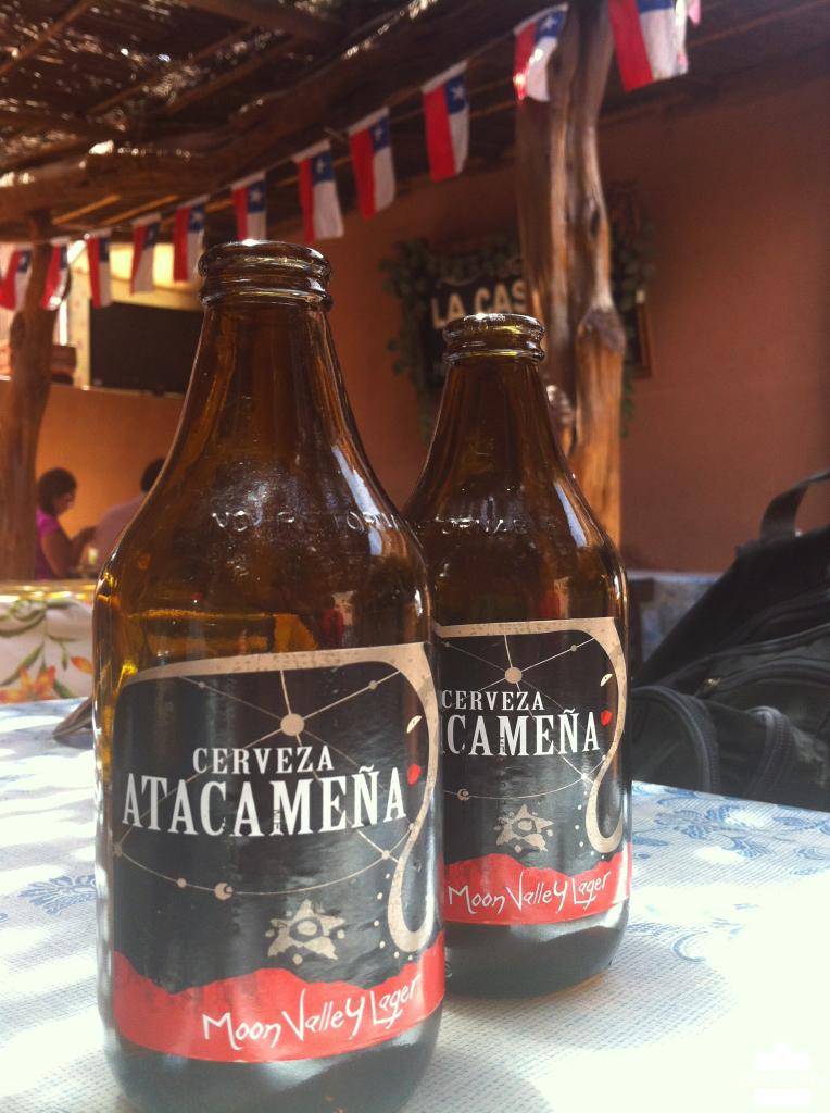 Chile Atacama Cerveza Atacamena