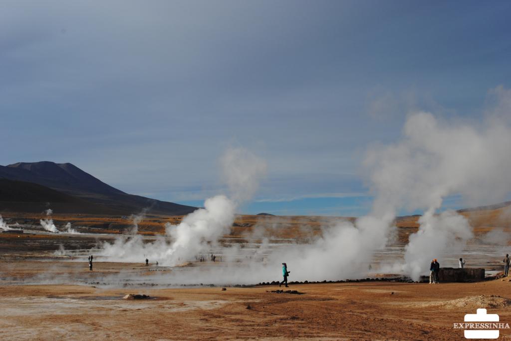 Chile Atacama Geiser del Tatio