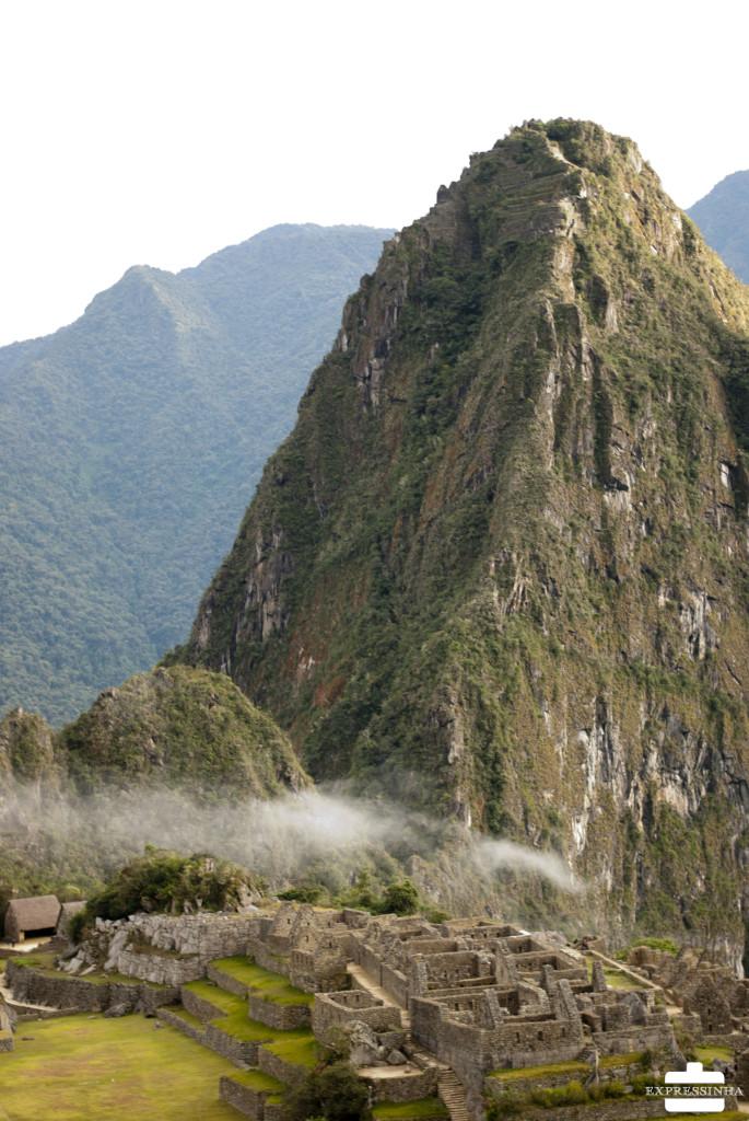 Peru Machu Picchu nevoa manhã