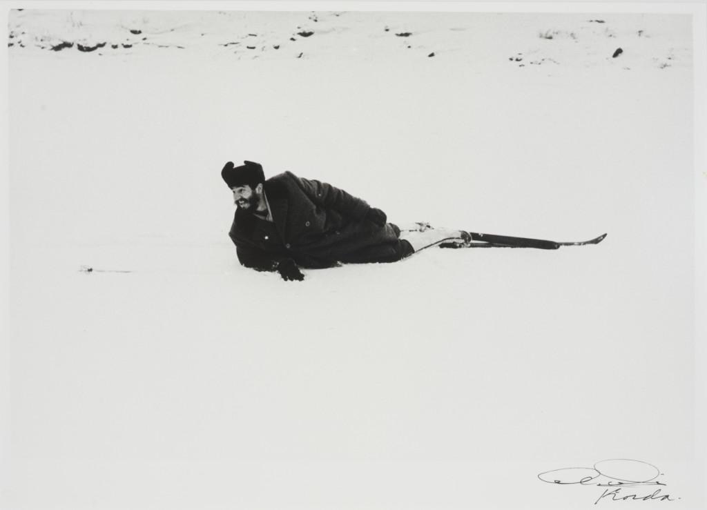 """""""Los rusos no habían agasajado a alguien de forma semejante desde el regreso a la Tierra del pimer cosmonauta Yuri Gagarin!"""" - Cuba por Korda Fidel sobre la nieve en Rusia - 1962"""