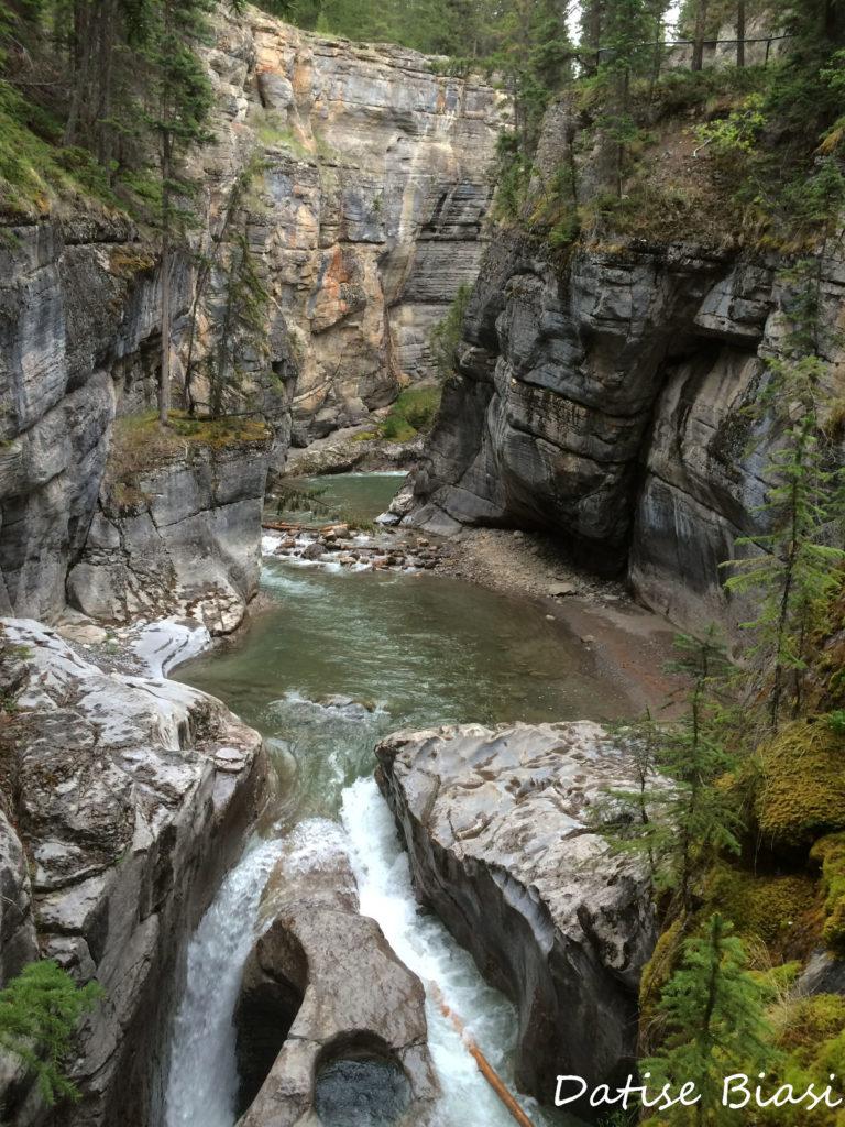 Canada Rockies Maligne Canyon
