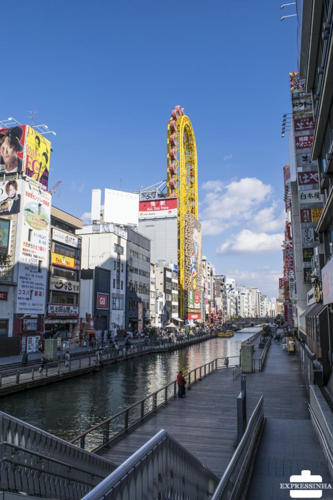 Japão Osaka Dotonburi