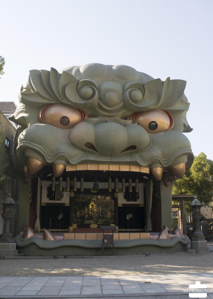 Japão Osaka Yasaka Shrine