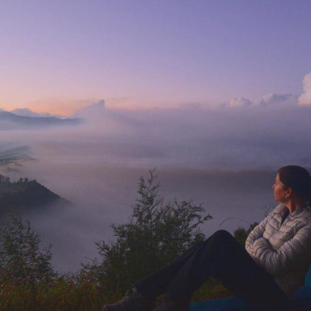 Bruna na bruma da manh mountbromo indonesia sunrise  hellip