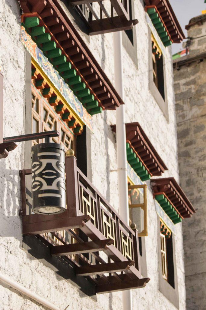 Tibet Lhasa Arquitetura