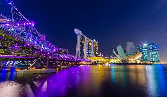 Singapura Turismo: o maravilhoso Marina Bay Sands Complex.